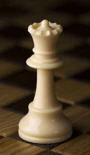 Chess piece - White queen