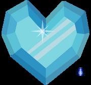 Crystal heart by bb k-d5kytgm