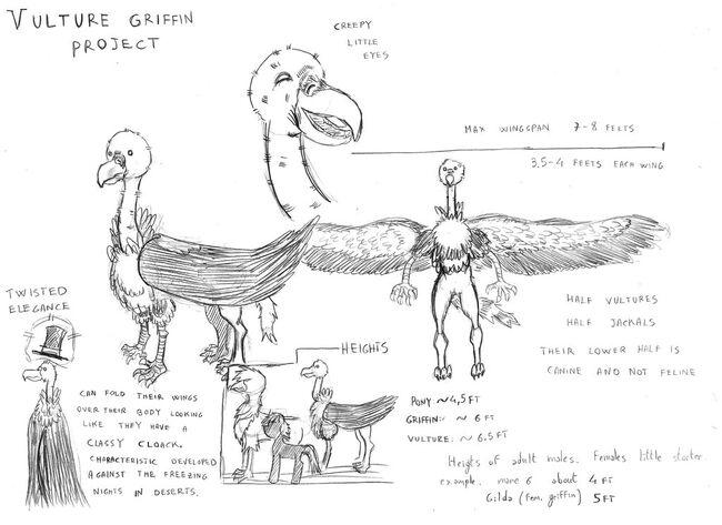 Vulture griffin by mattinix-d6raxhy