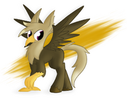 Mlp hippogriff by wonder waffle-d6mze0f