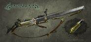 Steampunk Aether rifle V5