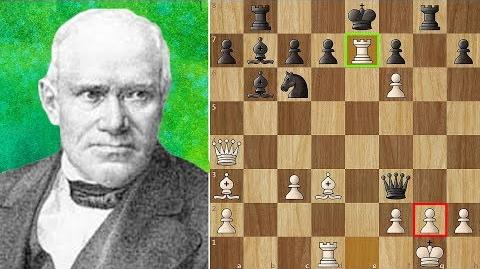 """Most Beautiful Chess Game Ever Played - """"The Evergreen Game"""""""