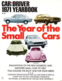 car and driver yearbook cover