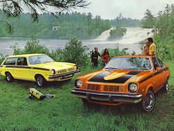 1974 Astre Coupe and Wagon