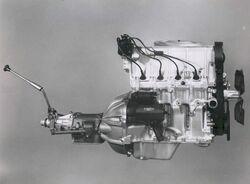 Vega 140 engine 3-speed manual