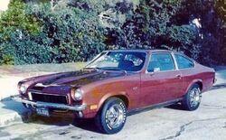 73 Vega GT-bronze metallic