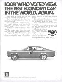 1972 Chevrolet Vega Ad