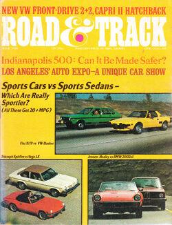 Road & Track - June 1974