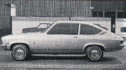 1968 Vega coupe prototype