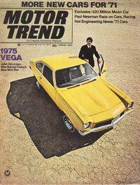 Motor Trend - Aug. 1970
