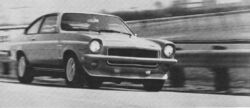 Vega V8 prototype-Hot Rod July 1972 (1)