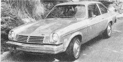 '74 Vega Motor Trend Nov. 1974