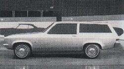 1968 XP-887 wagon clay model