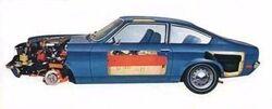 1971 Chevrolet Vega-cutaway
