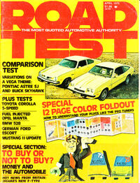 Road Test April 1975
