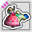 PIA Sticker Mort & Princess
