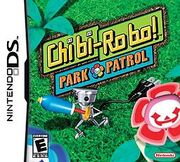 Chibi-Robo Park Patrol DS North America cover