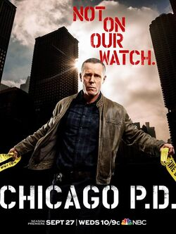 Chicago PD Season 5 Poster 1