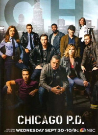 Chicago PD Season 3 Poster 1 (Portrait, Without Caption)