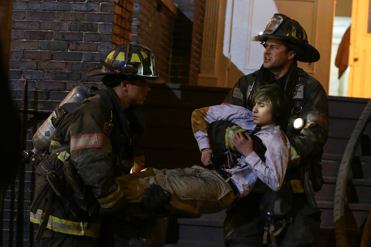 Chicago fire brett dating history