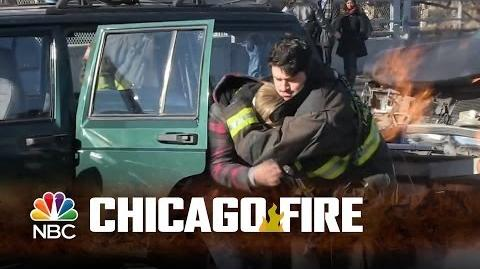 Chicago Fire - The Making of Otis' Courageous Rescue (Episode Highlight)