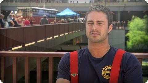 Chicago Fire - Taylor Kinney Interview