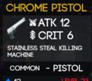 Chrome Pistol