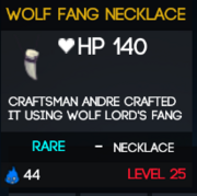 WolfFangNecklace
