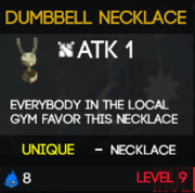 DumbbellNecklace