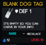 BlankDogTag