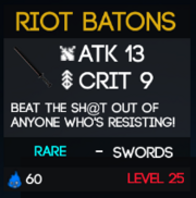 RiotBatons