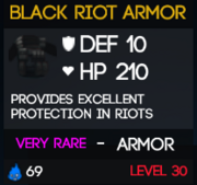 BlackRiotArmor