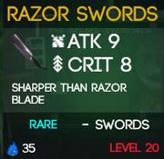 RazorSwords