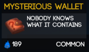 MysteriousWallet
