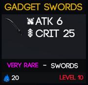 GadgetSwords