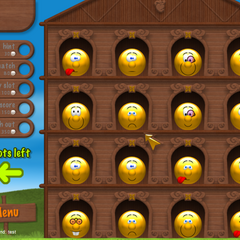 The debug console in <i>Smileyville</i>.