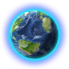 The Earth as seen in <i><a href=