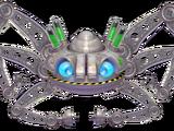 Giant Robotic Space Crab