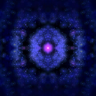 Milky Way as seen in the java version of <i>Revenge of the Yolk</i>.