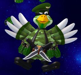 Military Chicken Boss