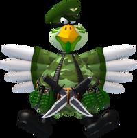 Militarychicken