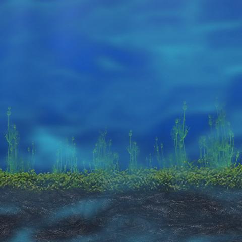 The ocean surface on Epsilon Thalassus.