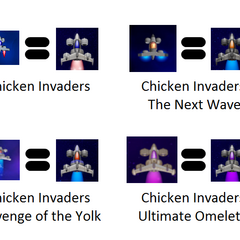 Chicken Invaders Series Hero Paintjob (25/03/2015 - 03/07/2015)