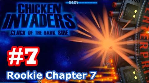 Chicken Invaders 5 - Part 7 Rookie Chapter 7 (No Death)