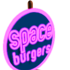 A Space Burger store in <i>The Next Wave</i>.