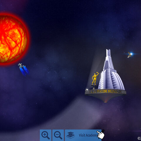 A teaser showing the galaxy exploration part of the game.