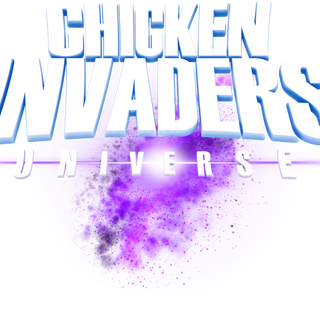 An early version of the logo from Teaser 1. The galaxy spiral extends further, the