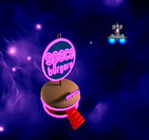 File:Chicken Invaders 2 leaving the space burger.png