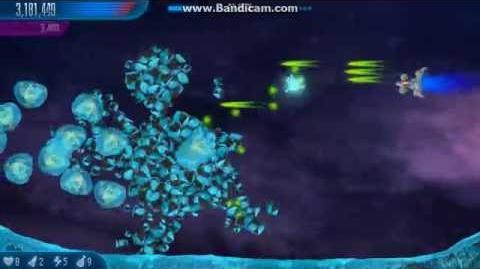 Chicken Invaders 5 Neutron Gun Primary Fire Test