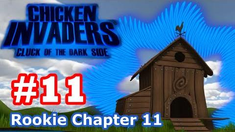 Chicken Invaders 5 - Part 11 Rookie Chapter 11 (No Death)
